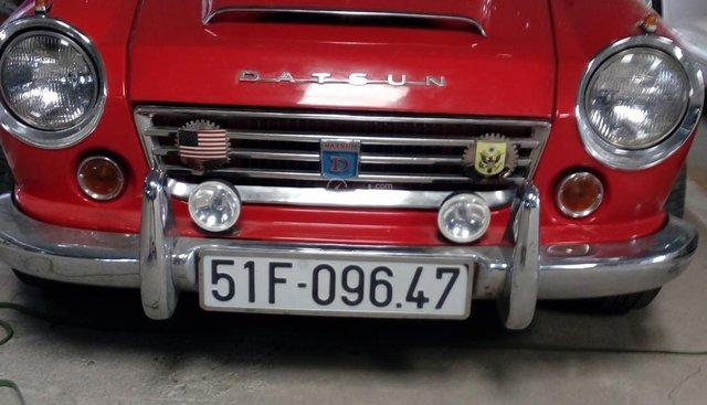 Bán xe cổ Datsun năm sản xuất 1966, màu đỏ, xe nhập, giá 530tr