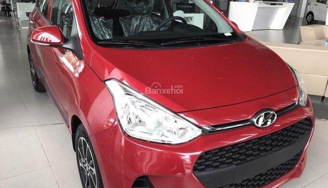 Bán xe Hyundai Grand i10 đời 2019, màu đỏ