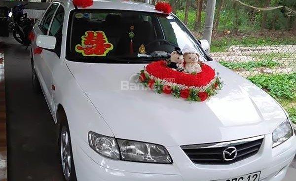 Bán Mazda 626 2.0 MT đời 2003, màu trắng, 200 triệu