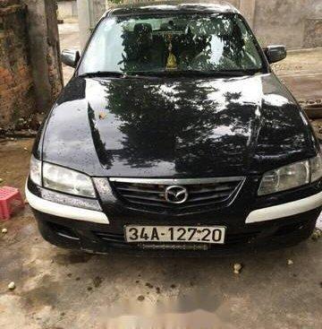 Bán Mazda 626 năm sản xuất 2000, màu đen xe gia đình