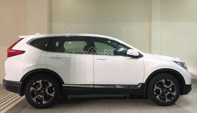 Bán Honda CR V 1.5L năm sản xuất 2018, màu trắng, xe nhập Thái Lan- Tuấn 0972537047