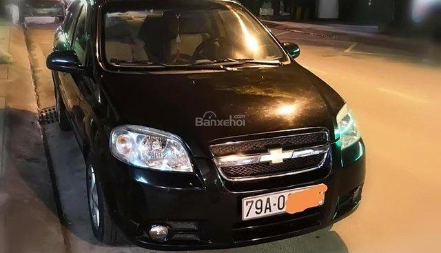 Cần bán Chevrolet Aveo 1.5 MT 2012, màu đen, 275tr