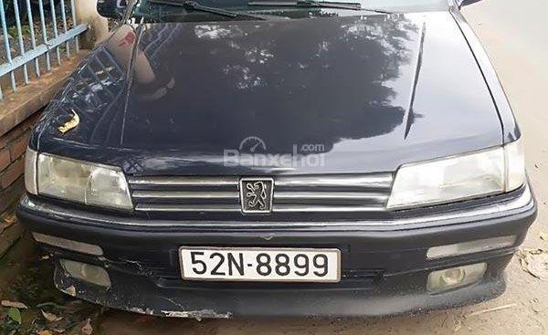 Bán Peugeot 605 1992, màu xanh lam, xe nhập