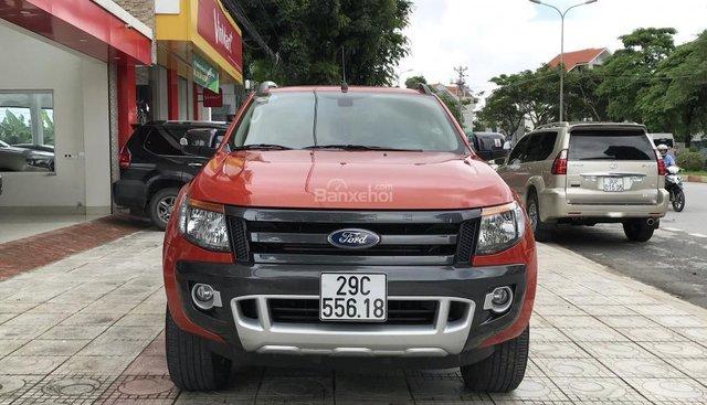 Bán Ford Ranger Wildtrak 3.2 sản xuất năm 2015, màu đỏ, nhập khẩu nguyên chiếc chính chủ
