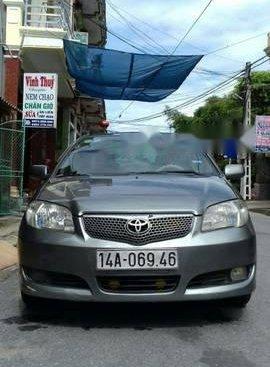 Cần bán lại xe Toyota Vios năm sản xuất 2005, màu xám chính chủ giá cạnh tranh
