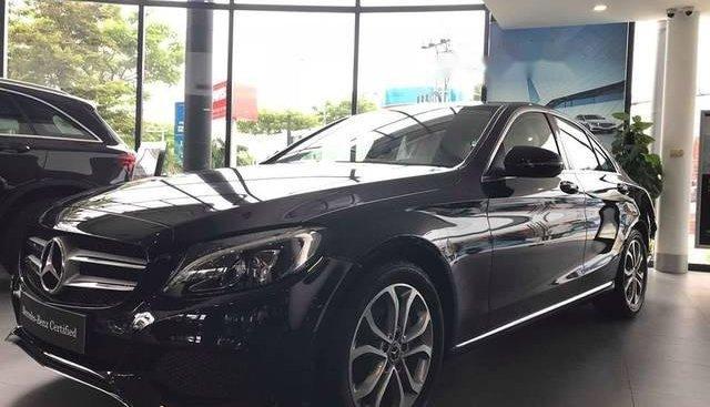 Cần bán xe Mercedes C200 2018, màu đen
