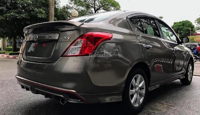 Bán Nissan Sunny XV Premium S năm 2018, màu nâu