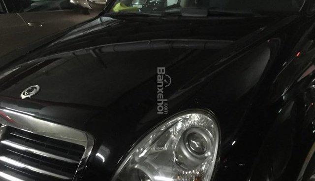 Bán Ssangyong Rexton II 2008, màu đen, xe nhập, giá 375 triệu
