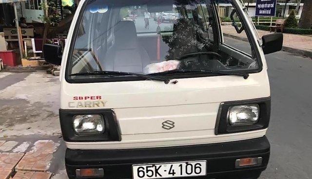 Cần bán xe Suzuki Super Carry Van MT 1999, màu trắng