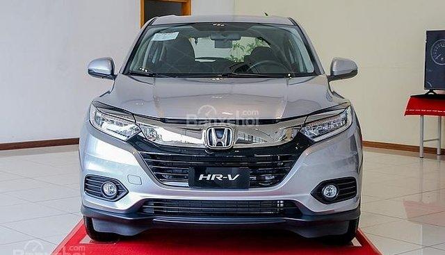 Bán Honda HR-V năm 2019, màu bạc, xe 5 chỗ gầm cao nhập khẩu nguyên chiếc Thái Lan