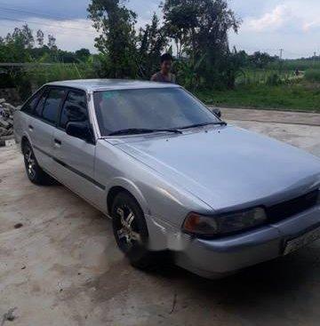 Bán xe Mazda 626 sản xuất năm 1990, màu bạc, giá tốt