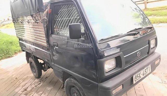 Cần bán lại xe Suzuki Super Carry Truck đời 2005, màu xanh lam, mui bạc