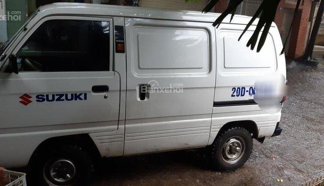 Cần bán xe Suzuki Blind Van sản xuất năm 2014, màu trắng