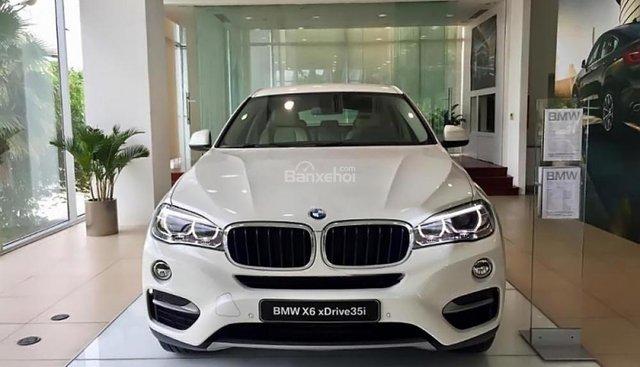 Bán xe BMW X6 xDriver35i đời 2018, màu trắng, nhập khẩu