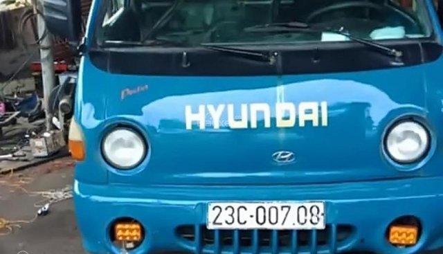 Bán Hyundai Poter 1T 1998, màu xanh, xe nhập khẩu, máy móc đang hoạt động bình thường, chạy ổn