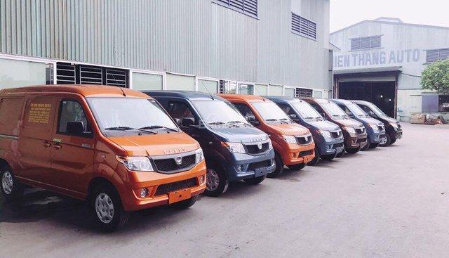 Bán xe Van Kenbo 5 chỗ mới 100%, đời 2018, xe tải Van 695kg