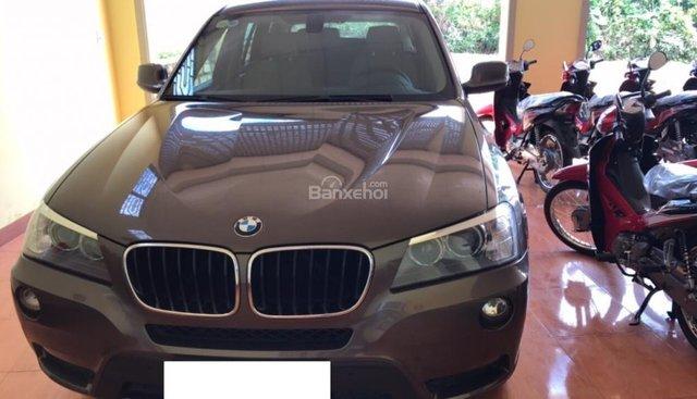 Bán ô tô BMW X3 sản xuất năm 2014, màu nâu, xe nhập