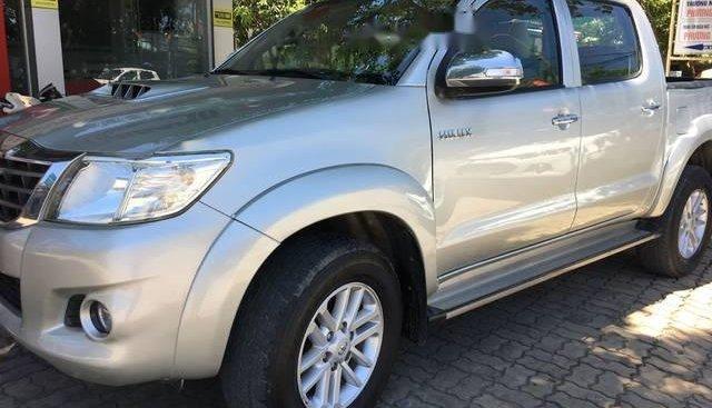 Bán Toyota Hilux 2.5 đời 2014, màu bạc, nhập khẩu Thái, 479 triệu