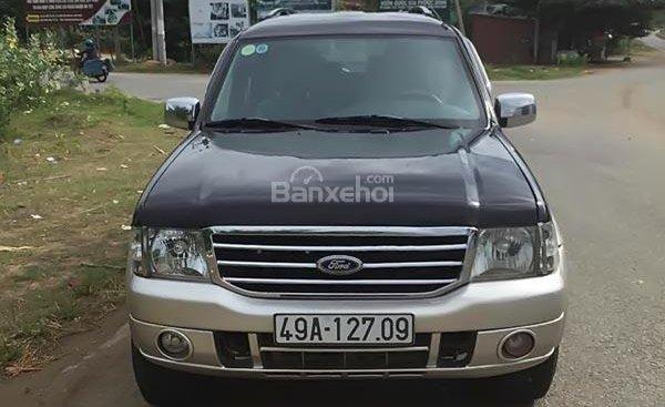 Cần bán Ford Everest 2.5L 4x2 MT 2006, màu đen