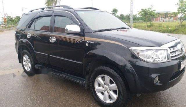 Bán Toyota Fortuner năm 2009, màu đen