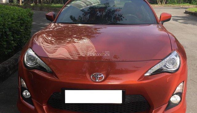 Bán Toyota FT 86 2.0 AT 2012, màu cam, xe nhập, giá chỉ 990 triệu