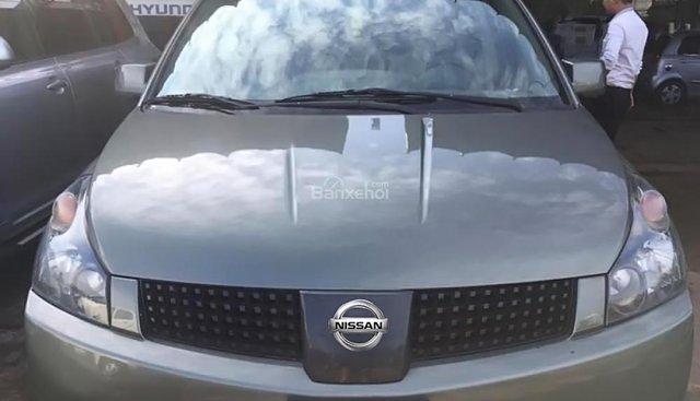 Bán Nissan Quest SL 3.5 V6 sản xuất năm 2005, màu xám, nhập khẩu