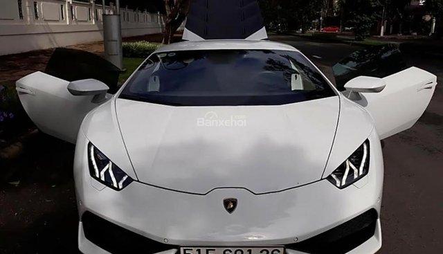 Cần bán lại xe Lamborghini Huracan LP610 đời 2014, màu trắng, xe nhập ít sử dụng