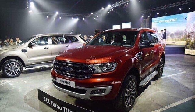 Bán xe Ford Everest Titanium 2019 nhập khẩu, trả góp 90%, lãi suất cố định 36 tháng, hotline 0979572297