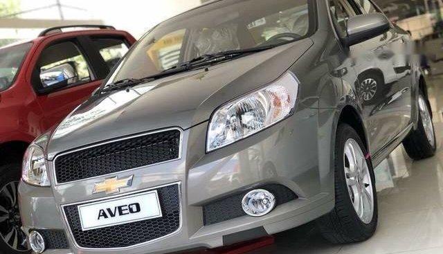 Bán Chevrolet Aveo đời 2018, màu xám