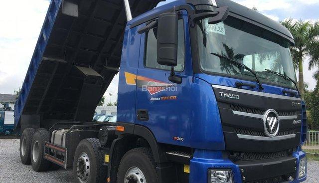 Liên hệ 096.96.44.128 cần bán xe Thaco Kia Ben xác nặng Auman D300 GTL đời 2018, màu xanh Auman