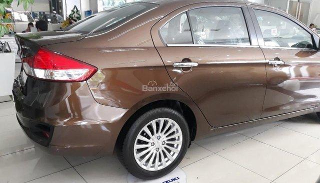 Cần bán xe Suzuki Ciaz 2019, màu nâu, xe nhập, sở hữu chỉ với 160 triệu