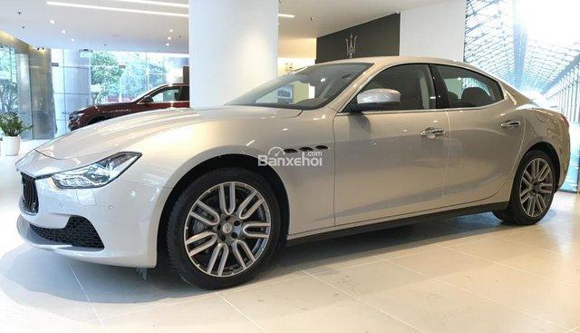 Bán Maserati Ghibli nhập khẩu chính hãng, màu vàng Champagne, hỗ trợ tư vấn 0978877754