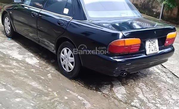 Bán Mitsubishi Proton màu đen, biển Hà Nội tên tư nhân