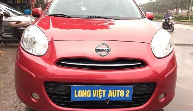 Bán Nissan Micra màu đỏ, nhập khẩu Ấn Độ, biển Hà Nội, tên tư nhân chính chủ