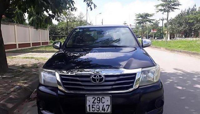 Cần bán Toyota Hilux 2.5E 4x2 MT năm 2012, màu đen, xe nhập
