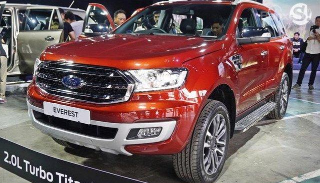 Bán Ford Everest 2.0L Bi-Turbo nhập khẩu Thái - LH: 0902172017 - Em Mai