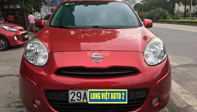Bán Nissan Micra 1.2 AT đời 2011, màu đỏ, nhập khẩu chính chủ giá cạnh tranh