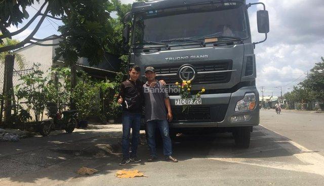 Bán xe tải Dongfeng Trường Giang 5 chân, loại xe tải được quan tâm nhất hiện nay
