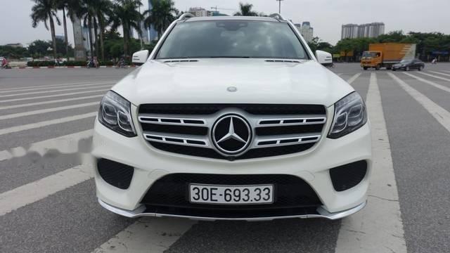 Bán Mercedes GLS500 năm sản xuất 2016, màu trắng