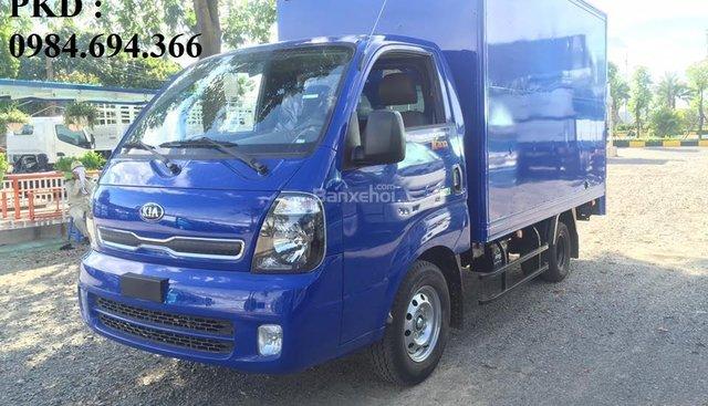 Chuyên bán xe tải Kia K200 E4 tải 1.4 tấn tổng tải đủ vào phố Tubor tăng áp, máy Hyundai D4CB, liên hệ 0984694366