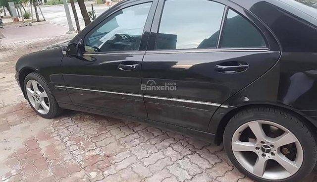 Bán Mercedes C280 Avantgarde đời 2006, màu đen  290 triệu