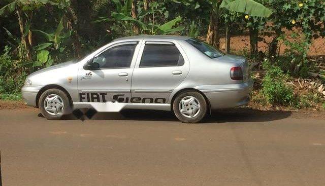 Bán Fiat Siena đời 2002, màu bạc