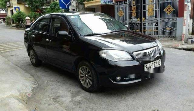Bán Toyota Vios sản xuất năm 2005, màu đen