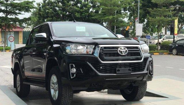 Bán xe Toyota Hilux đời 2018 màu đen, giá tốt nhập khẩu nguyên chiếc