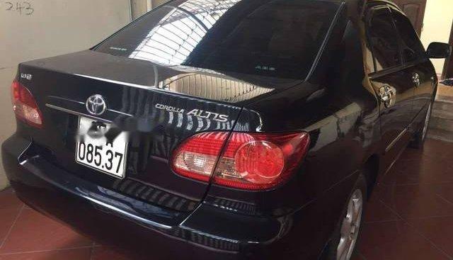 Cần bán gấp Toyota Corolla altis đời 2008, màu đen chính chủ, giá tốt