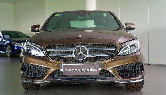 Bán Mercedes C300 AMG 2018 cũ, chính hãng, tặng vàng 9999