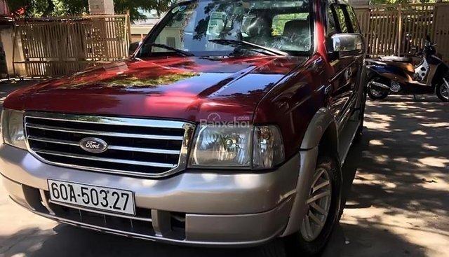 Bán ô tô Ford Everest 2.5L 4x2 MT đời 2007, màu đỏ