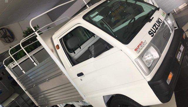 Bán Suzuki Carry Truck - 2018 - thùng mui bạt - tặng ngay 100% thuế trước bạ - LH 0906.612.900
