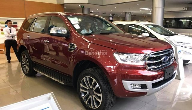 Ford Lạng Sơn, đại lý 2S chuyên bán các dòng xe Ford Everest nhập Thái, đủ màu, trả góp 90%. KM gói phụ kiện chính hãng