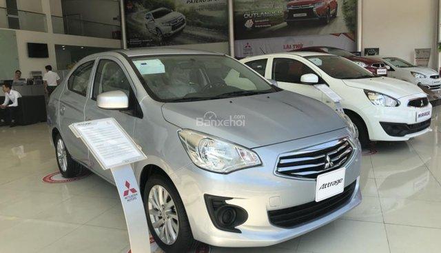 [Siêu rẻ] Mitsubishi Attrage nhập Thái, 5L/100km, xe chạy Grab hiệu quả, cho vay 80% - LH ngay: 0905.91.01.99 Phú
